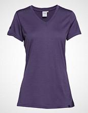 Bergans Basic Wool Lady Tee T-shirts & Tops Short-sleeved Lilla BERGANS