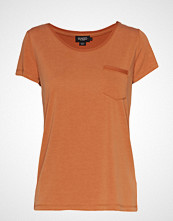 Soaked in Luxury Slcolumbine Tee T-shirts & Tops Short-sleeved Oransje SOAKED IN LUXURY