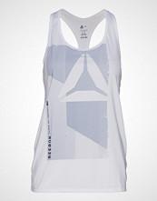 Reebok Performance Ost Ac Graphic Tank T-shirts & Tops Sleeveless Hvit REEBOK PERFORMANCE