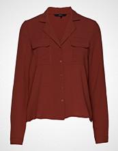 Vero Moda Vmbibi Ls Shirt Wvn Langermet Skjorte Rød VERO MODA