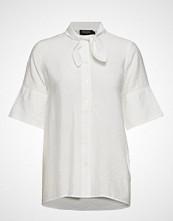 Soaked in Luxury Sl Valora Shirt Ss Bluse Kortermet Hvit SOAKED IN LUXURY
