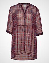Junarose Jrsalayrevea 3/4 Sleeve Long Shirt - K Langermet Skjorte Lilla JUNAROSE
