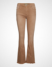 Please Jeans Longcut Cotton Bob Jeans Sleng Beige PLEASE JEANS