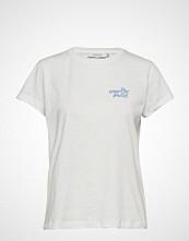 Munthe Helix T-shirts & Tops Short-sleeved Hvit MUNTHE
