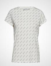 Munthe Hustle T-shirts & Tops Short-sleeved Hvit MUNTHE