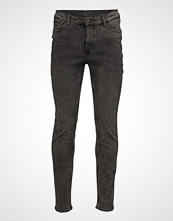 Cheap Monday Sonic Norm Black Slim Jeans Svart CHEAP MONDAY