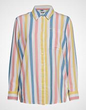 Wrangler Deck Chair Stripe Langermet Skjorte Multi/mønstret WRANGLER