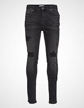 Just Junkies Sicko Ozon Black Slim Jeans Grå JUST JUNKIES