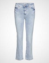 Mango Regular Straight Jeans Skinny Jeans Blå MANGO