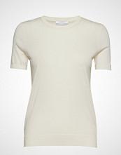 BOSS Business Wear Falyssa T-shirts & Tops Short-sleeved Creme BOSS BUSINESS WEAR