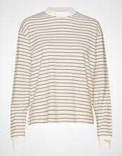 Wood Wood Astrid Long Sleeve T-shirts & Tops Long-sleeved Creme WOOD WOOD