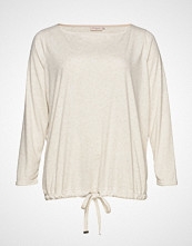 Only Carmakoma Carcozyness Ls Blouse T-shirts & Tops Long-sleeved Creme ONLY CARMAKOMA