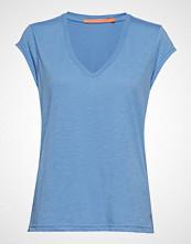 Coster Copenhagen Basic Tee W. V-Neck T-shirts & Tops Short-sleeved Blå COSTER COPENHAGEN