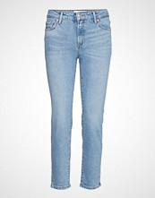 Mango Cropped Slim-Fit Grace Jeans Slim Jeans Blå MANGO