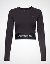Calvin Klein Performance Long Sleeve Tee T-shirts & Tops Long-sleeved Svart CALVIN KLEIN PERFORMANCE