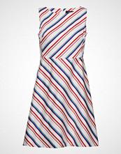 Taifun Dress Woven Fabric Kort Kjole Multi/mønstret TAIFUN