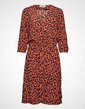 Modström Robbie Print Dress Knelang Kjole Oransje MODSTRÖM