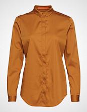 Coster Copenhagen Regular Shirt Langermet Skjorte Brun COSTER COPENHAGEN