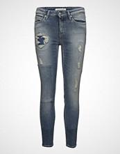 Calvin Klein Ckj 011: Mid Rise Sk Skinny Jeans Blå CALVIN KLEIN JEANS