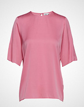 Filippa K Silk Tee T-shirts & Tops Short-sleeved Rosa FILIPPA K