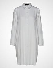 Nanso Ladies Dress, Riisi Knelang Kjole Hvit NANSO