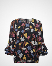 Just Female Nina Blouse Bluse Langermet Blå JUST FEMALE