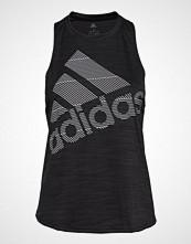 Adidas Performance Bos Logo Tank T-shirts & Tops Sleeveless Svart ADIDAS PERFORMANCE