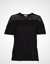 Filippa K Soft Sport Tencel Mesh Tee T-shirts & Tops Short-sleeved Svart FILIPPA K SOFT SPORT