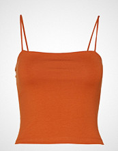Gina Tricot Scarlet Singlet T-shirts & Tops Sleeveless Oransje GINA TRICOT