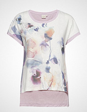 Cream Lavenie Tshirt T-shirts & Tops Short-sleeved Lilla CREAM