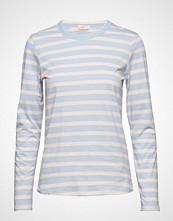 Levete Room Lr-Eika T-shirts & Tops Long-sleeved Blå LEVETE ROOM