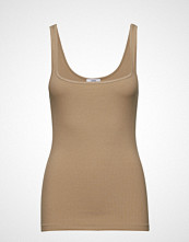 Envii Enotto Sl Tee 5923 T-shirts & Tops Sleeveless Beige ENVII