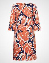 Nanso Ladies Dress, Teea Knelang Kjole Oransje NANSO
