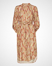 Coster Copenhagen Dress W. Long Sleeves In Paisley Pr Knelang Kjole Multi/mønstret COSTER COPENHAGEN
