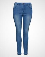 Zizzi Jeans, Long, Amy, Super Slim Skinny Jeans Blå ZIZZI