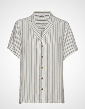 Envii Enfulham Ss Shirt 6627 Bluse Kortermet Hvit ENVII