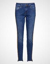 Mos Mosh Bradford Blue Carell Jeans Skinny Jeans Blå MOS MOSH