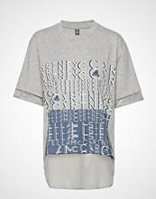 Adidas by Stella McCartney Logo Tee T-shirts & Tops Short-sleeved Grå ADIDAS BY STELLA MCCARTNEY
