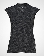 DAILY SPORTS Melli Cap Sleeve T-shirts & Tops Sleeveless Svart DAILY SPORTS