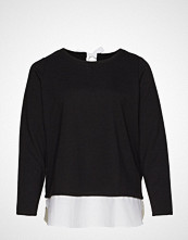 Junarose Jrcecil Ls Blouse - S T-shirts & Tops Long-sleeved Svart JUNAROSE