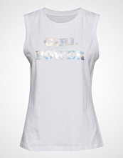 Armani Exchange Woman Jersey T-Shirt T-shirts & Tops Sleeveless Hvit Armani Exchange