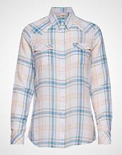 Wrangler Western Check Shirt Langermet Skjorte Multi/mønstret WRANGLER