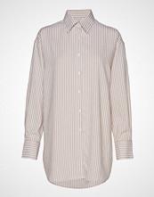 Filippa K Nina Striped Shirt Langermet Skjorte Hvit FILIPPA K