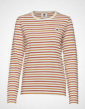 Wood Wood Moa Long Sleeve T-shirts & Tops Long-sleeved Oransje WOOD WOOD