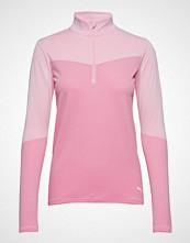 Puma Golf W Evoknit 1/4 Zip T-shirts & Tops Long-sleeved Rosa PUMA GOLF