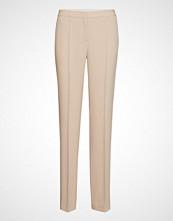 BOSS Business Wear Tamea11 Bukser Med Rette Ben Beige BOSS BUSINESS WEAR