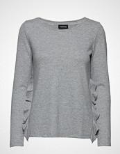 Taifun T-Shirt 3/4-Sleeve R Strikket Genser Grå TAIFUN
