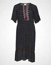 Junarose Jraviaya 2/4 Sl Midi Dress - K Knelang Kjole Svart JUNAROSE