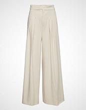 InWear Abra Wide Pant Vide Bukser Creme INWEAR