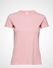Custommade Panita Solid T-shirts & Tops Short-sleeved Rosa CUSTOMMADE